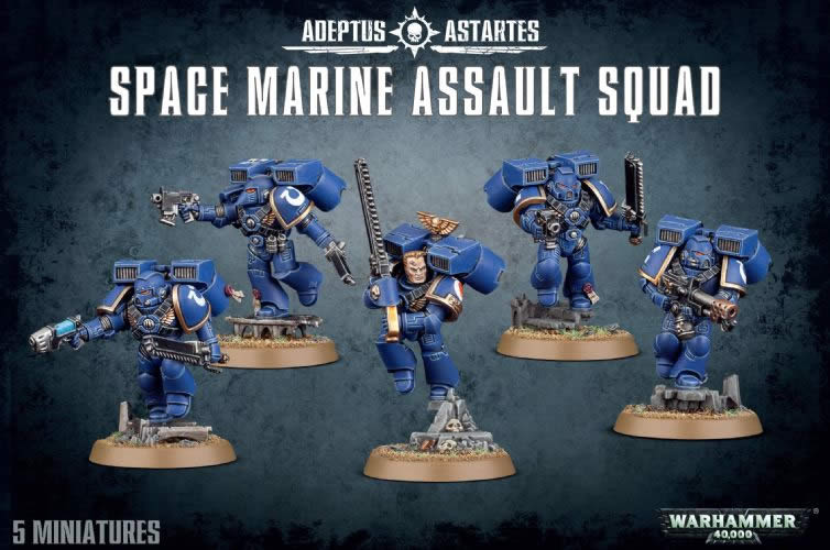 Space Marines - Assault Squad