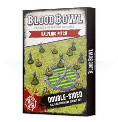 Browse Bloodbowl - Halfling Pitch & Dugout Set (Double Sided)