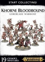 Browse Start Collecting: Khorne Bloodhound Goreblade Warband