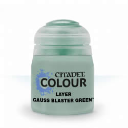 Gauss Blaster Green - Layer