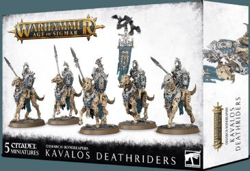 Browse Ossiarch Bonereapers - Kavalos Deathriders
