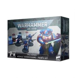 Browse Space Marines - Assault Intercessors & Paint Set